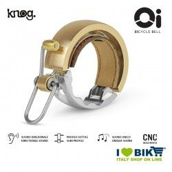 Campanello 23,8 mm, Knog Oi Luxe Large, Oro