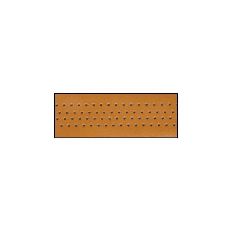 Handlebar tape leather honey  - 1