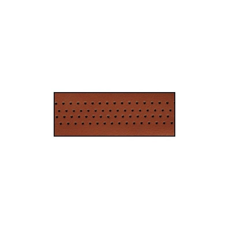 Handlebar tape in brown leather  - 1