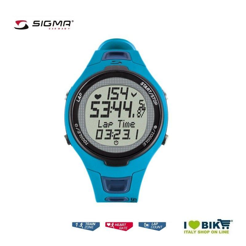 Cardiofrequenzimetro Sigma PC 15.11 blu vendita online