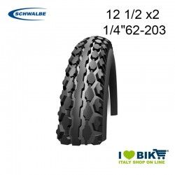 "Copertone 12 1/2 x2 1/4"" Rinforzato Schwalbe Reinforced"