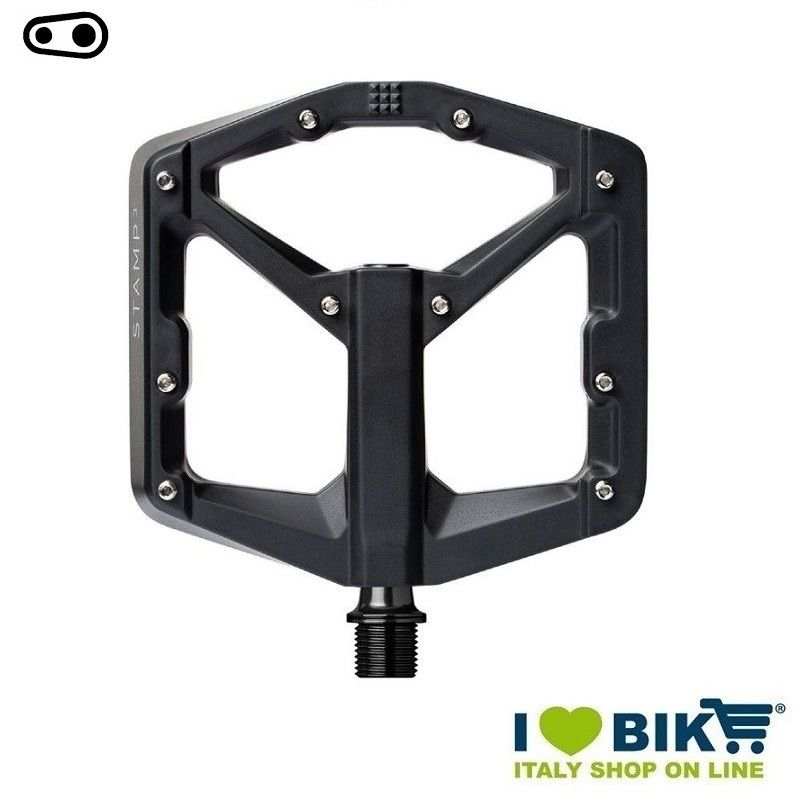 Freeride DH Enduro Cranckbrothers pedals STAMP 3 small BLACK  - 1
