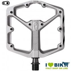 Crankbrothers stamp 3 large silver pedals