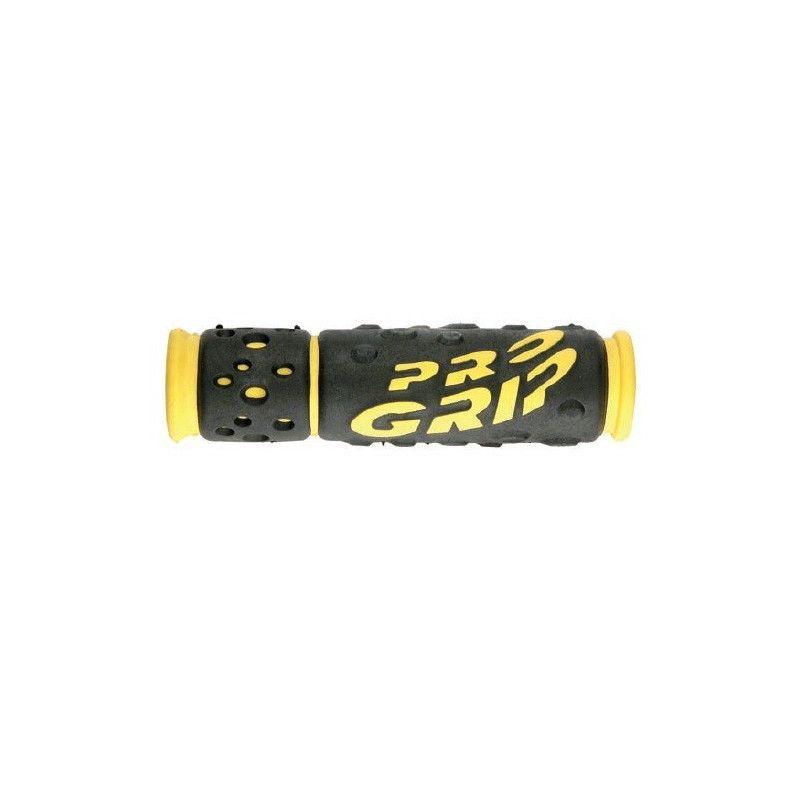 Pair Professional yellow knobs Progrip - 1