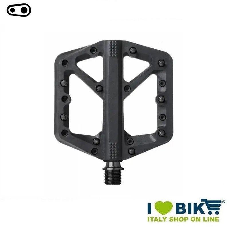 Freeride DH Enduro Cranckbrothers pedals STAMP 1 LARGE BLACK  - 1