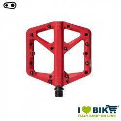 Crankbrothers pedals stamp 1 large red