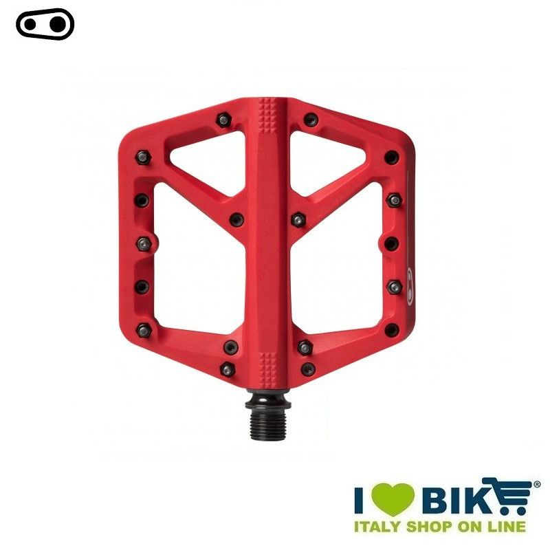 Freeride DH Enduro Cranckbrothers pedals STAMP 1 small red  - 1