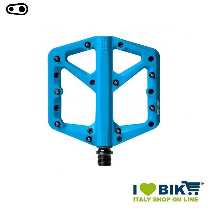 Pedali freeride DH Enduro Cranckbrothers STAMP 1 small blu  - 1
