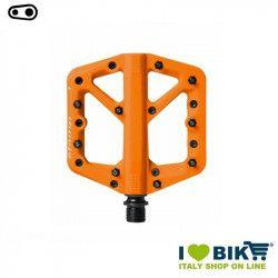 Pedali freeride DH Enduro Cranckbrothers STAMP 1 small arancio