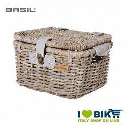 Front basket basil denton MEDIUM grey
