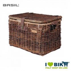 Front basket basil denton large brown