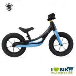 Rebel Kidz pedal-free bicycle black/blu magnesium alloy BIKE PARTS - 1