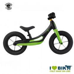Bici senza pedali Rebel Kidz lega di magnesio nero/verde