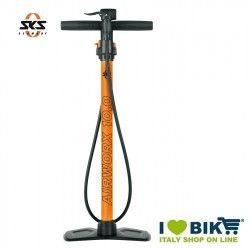 SKS airworx 10.0 professional floor pump for online shop cycle orange
