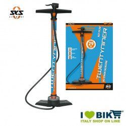 SKS Twentyniner professional floor pump for online shop cycle orange