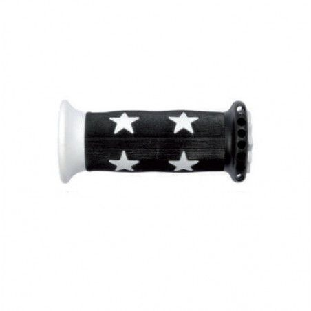 Pair knobs Bimbo 22 mm White Star