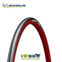 Copertura michelin dynamic sport 700 x 23 rosso/nero bike shop