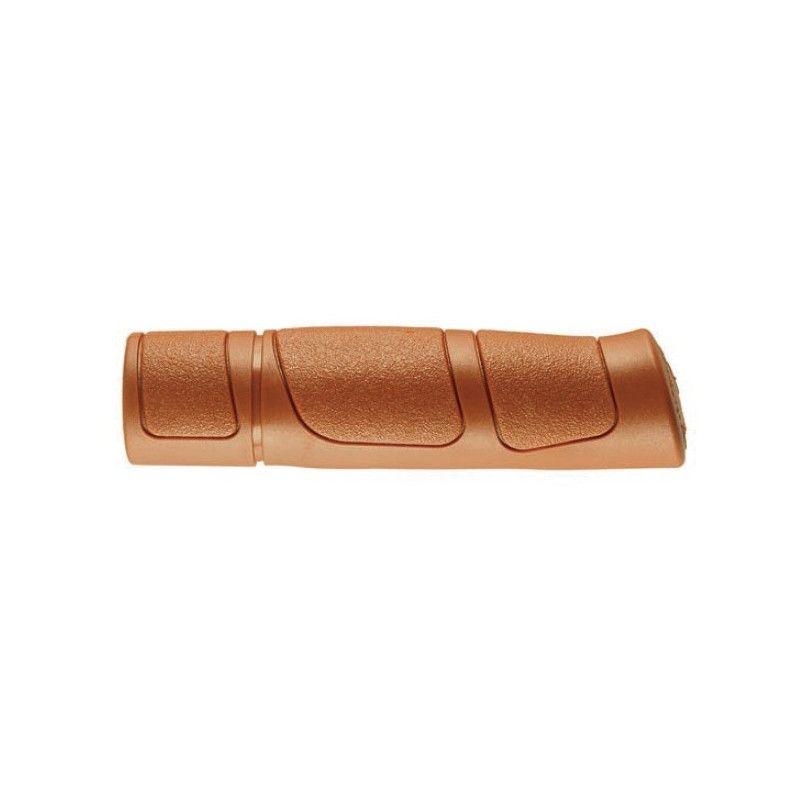 knobs Pair Trekking brown rubber 125 MM BRN - 1