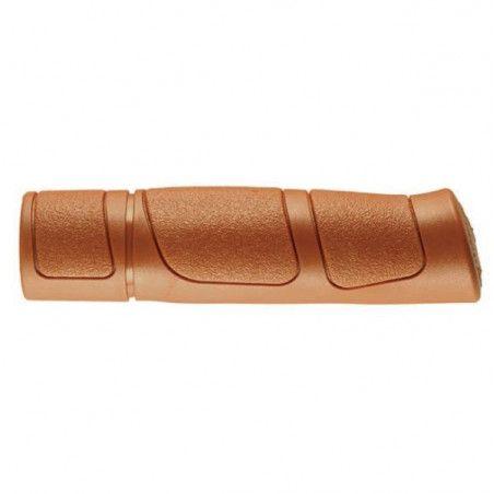 knobs Pair Trekking brown rubber
