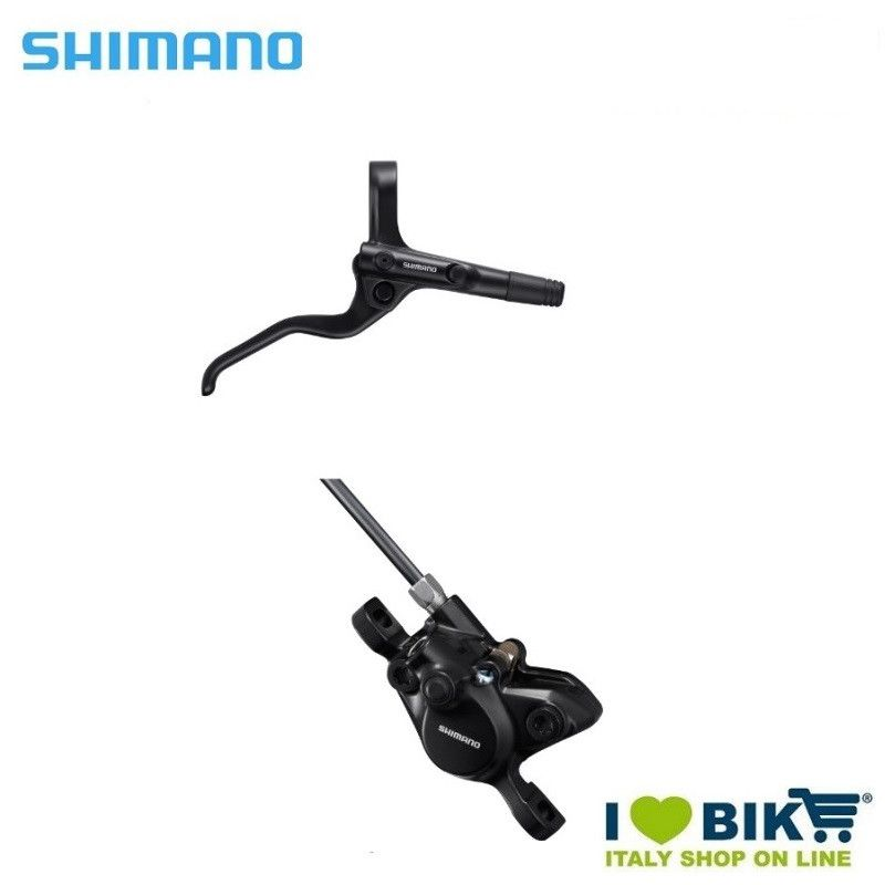 Rear Disc Brake Kit Black (R) BL-MT201 + BR-MT200 black Shimano - 1