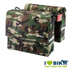 Bags camouflage bike back