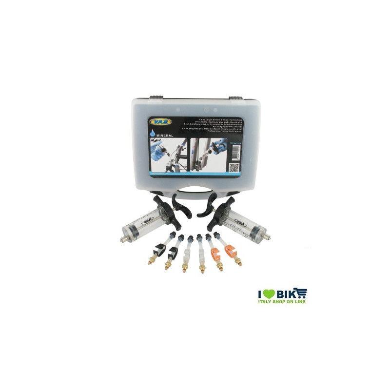 Universal disc brake bleeding kit mineral oil disc brakes Var Professional Var - 1