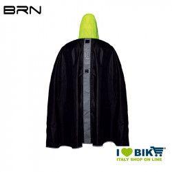 BRN Rain Poncho for adult black yellow fluo BRN - 2
