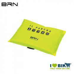 BRN Rain Poncho for adult black yellow fluo BRN - 3