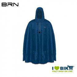 BRN Rain Poncho for adult blue