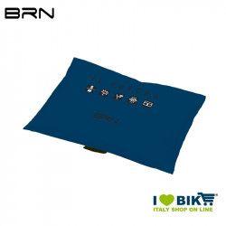 BRN Rain Poncho for adult blue BRN - 3
