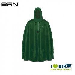 BRN Rain Poncho for adult green