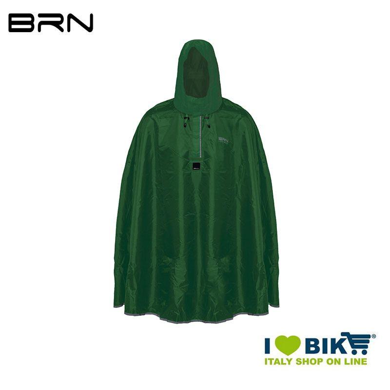 BRN Rain Poncho for adult green BRN - 1