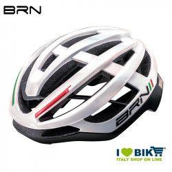 Helmet BRN Freccia glossy white Italy