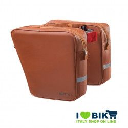Separate bike bags in leatherette honey bike accessories and spare parts online bike shop