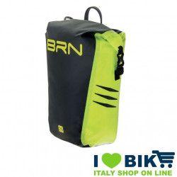 BRN touring bike bag Himalaya rear yellow fluo