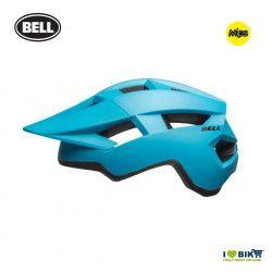 SPARK W MATTE/GLOSS BLUE/BLACK Casco Bell