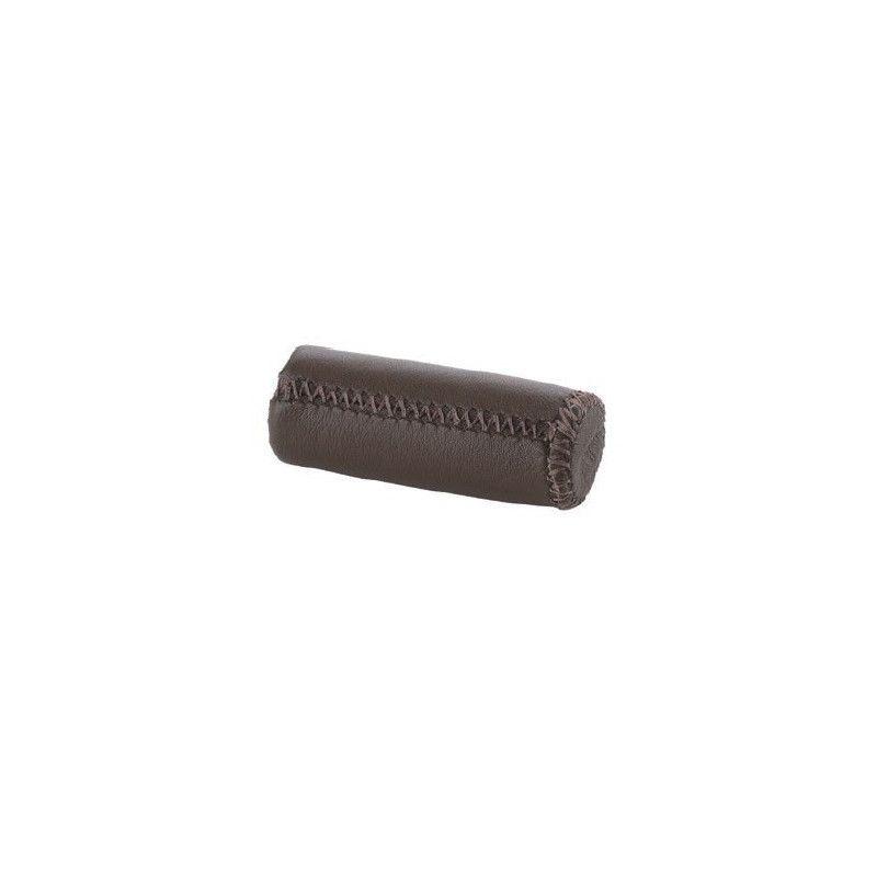 knobs Pair brown leather City Grip  - 1