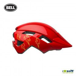 Bell Sidetrack 2 child helmet model Bolts Colour Glossy Red