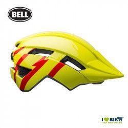 Casco Bell bimbo Sidetrack 2 modello Strike Colore gloss Hi-viz/red