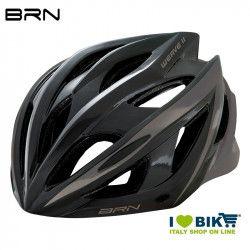 Helmet BRN WEAVE II black/gray
