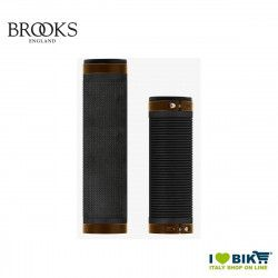 Brooks Cambium grips for 100/130 mm gearboxes Black Orange Brooks - 1