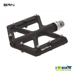 Coppia pedali BRN Carbon Kite shop online Neri pin Silver
