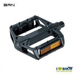 Aluminum Pedals Pro black with big pin 9/16  - 1