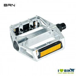 Aluminum Pedals Pro Silver  with big pin 9/16  - 1