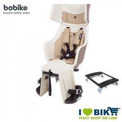 Rear bicycle seat BOBIKE EXCLUSIVE TOUR PLUS safari chic