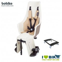 Seggiolino bici posteriore BOBIKE EXCLUSIVE MAXI PLUS Safari Chic