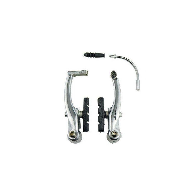 Serie freni alluminio V-Brake silver SACCON - 1