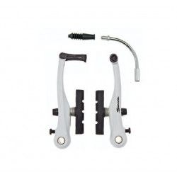 Serie freni alluminio V-Brake bianchi