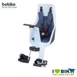 Front child seat BOBIKE EXCLUSIVE MINI PLUS Light Blue Denim