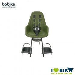 Seggiolino Bobike MINI ONE anteriore Verde Militare
